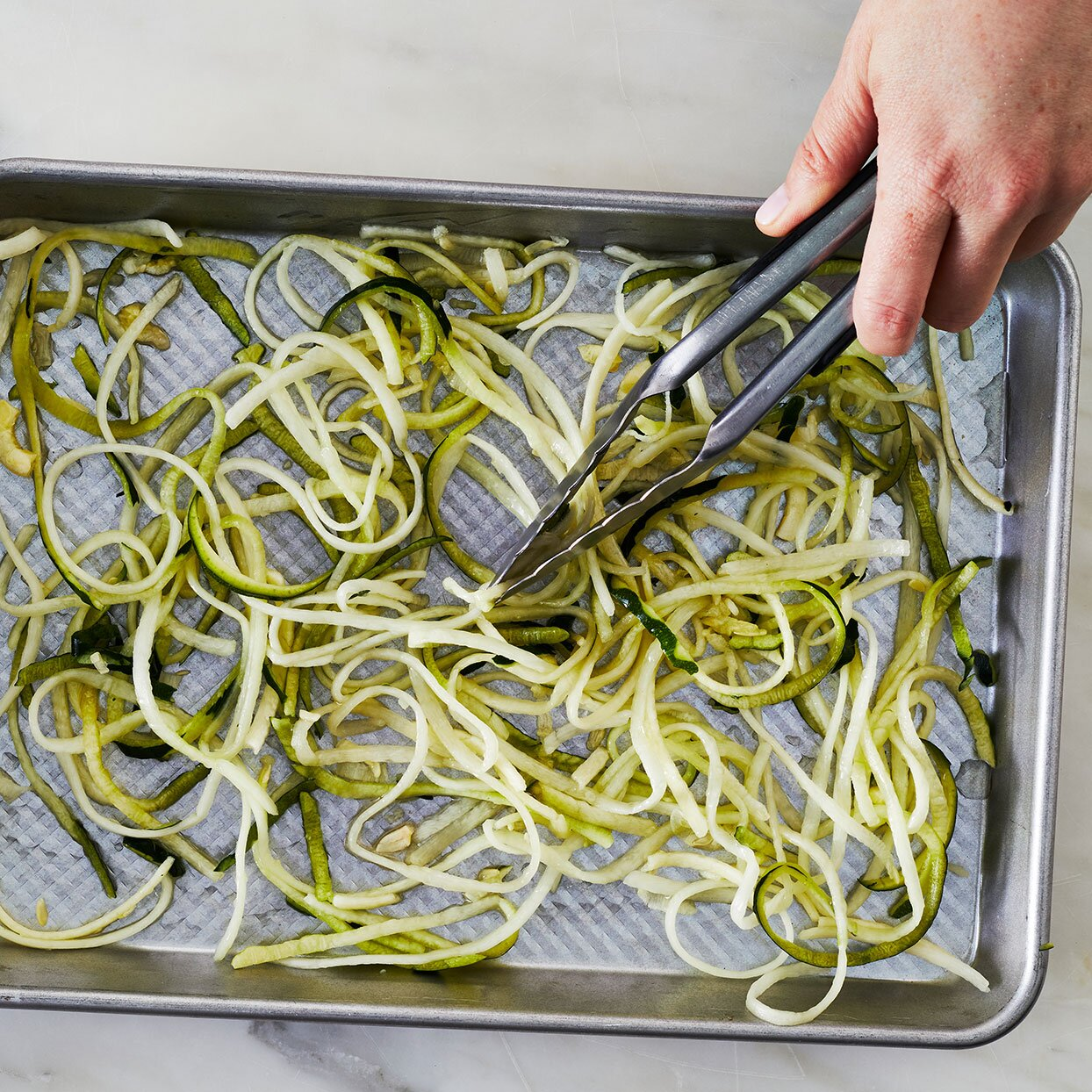 Zucchini-noodles-in-a-sheetpan