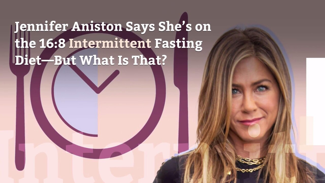 Jennifer Aniston Does the 16:8 Intermittent Fasting Diet—What Is That? |  Health.com