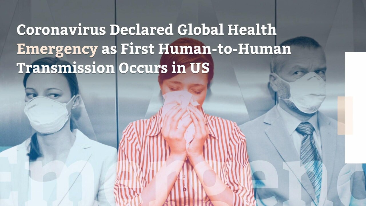 coronavirus human to human transmission who