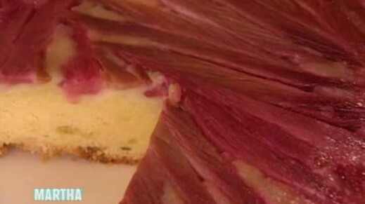 Rhubarb Upside Down Cake Recipe Martha Stewart