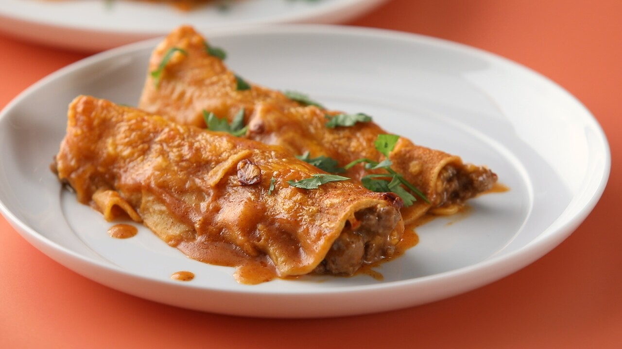 Tex Mex Beef Enchiladas Recipe Martha Stewart