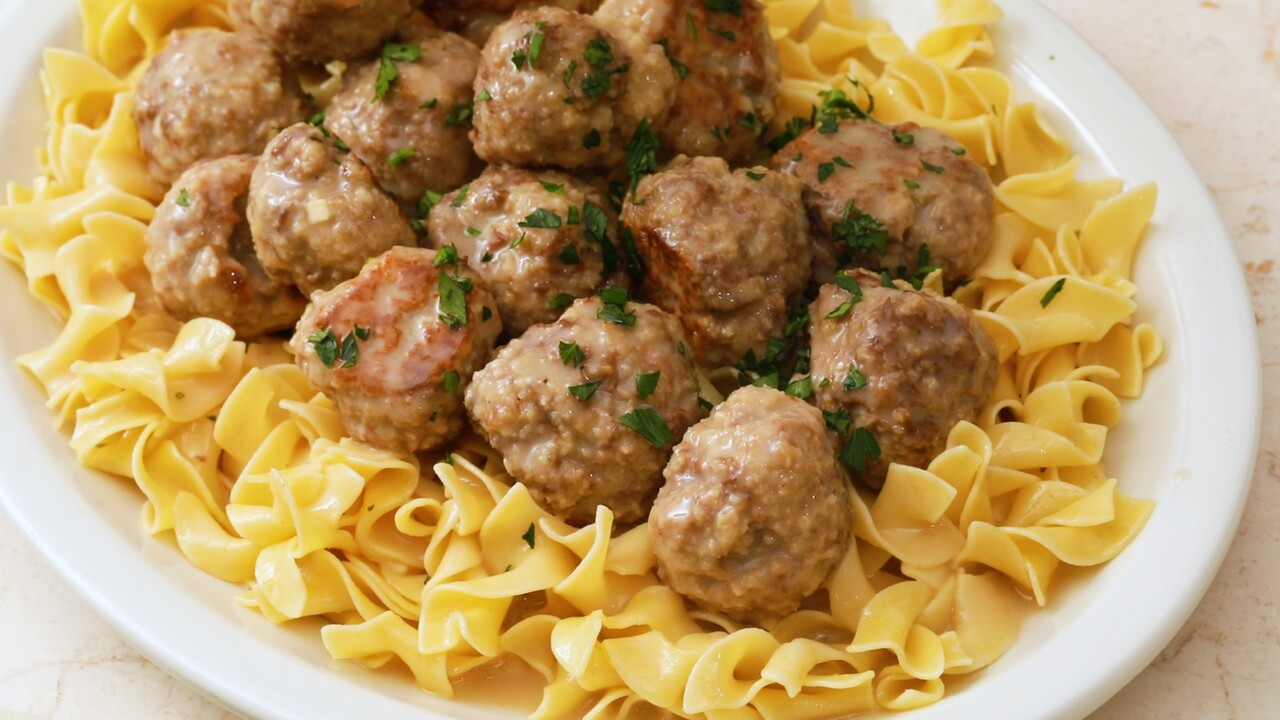 Swedish Meatballs Recipe Martha Stewart