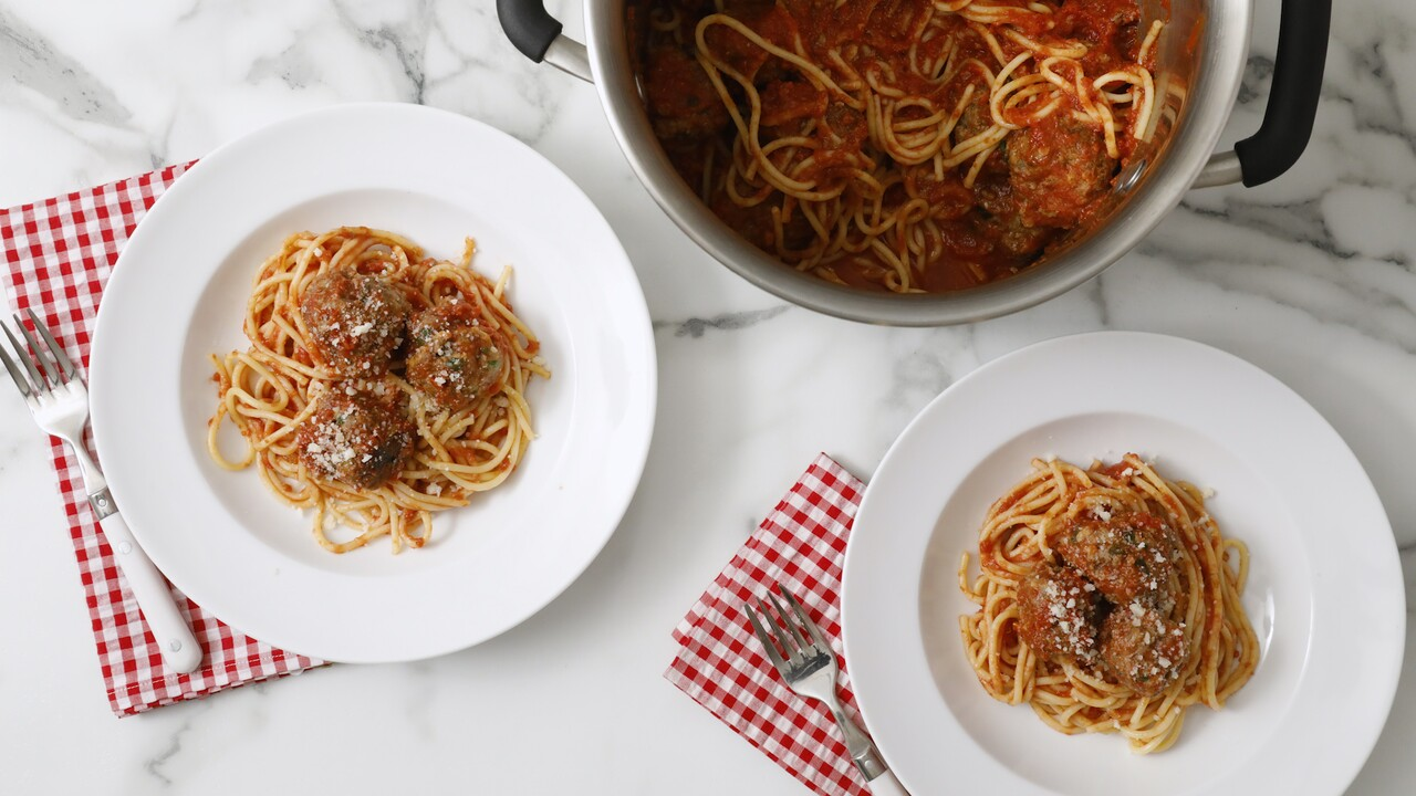 Easiest Spaghetti And Meatballs Recipe Martha Stewart