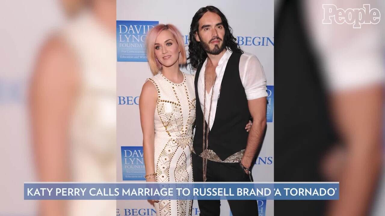 Katy Perry Opens Up About Her Previous Marriage To Russell Brand People Com