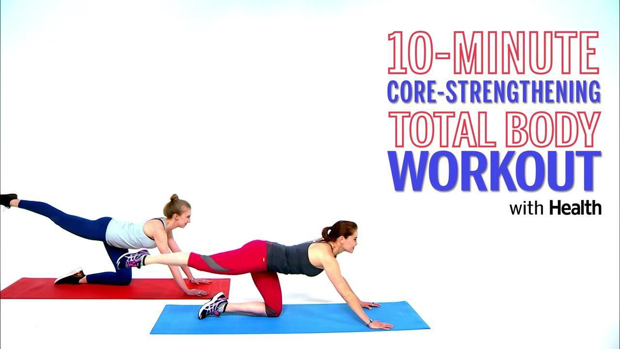 11-Minute Core-Strengthening Total Body Workout with Mahri Relin