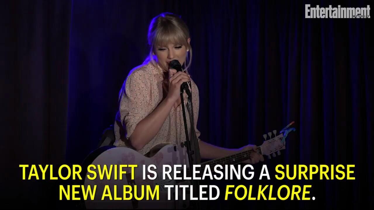 Taylor Swift Releasing Surprise New Album Folklore Tonight Ew Com