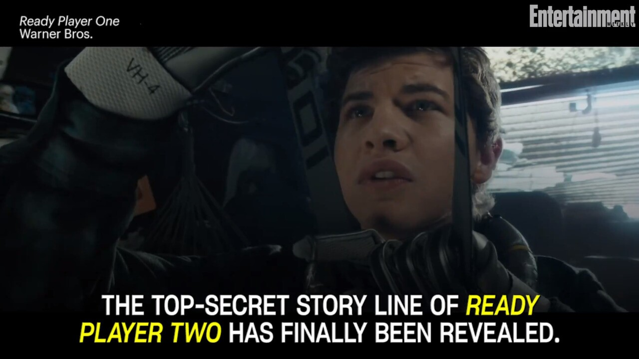 ready player two storyline revealed at new york comic con ew com ready player one author ernest cline reveals sequel s story line