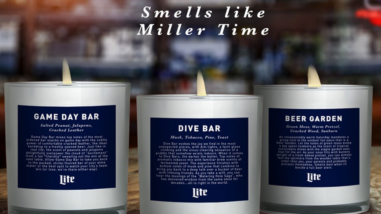 Miller Lite Dropped A Line Of Candles That Smell Like Your Favorite Bars Travel Leisure