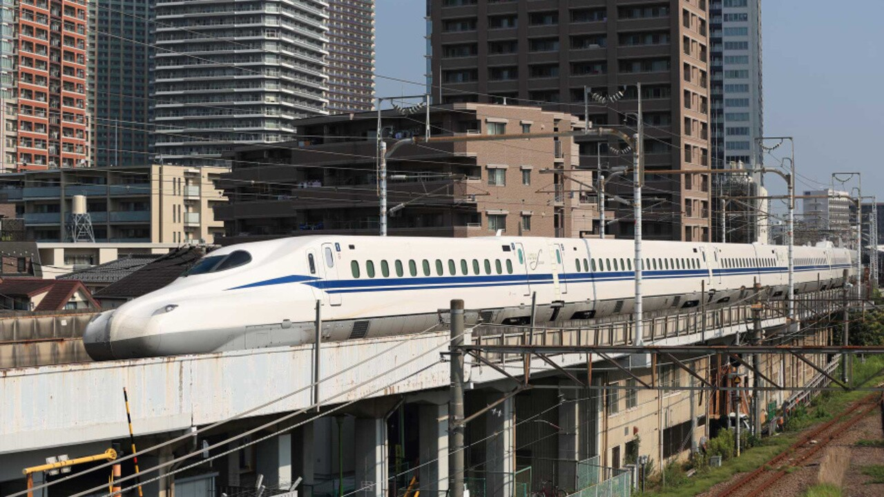 Japan Has an Incredible New Bullet Train That Can Help Rescue Passengers  During an Earthquake | Travel + Leisure