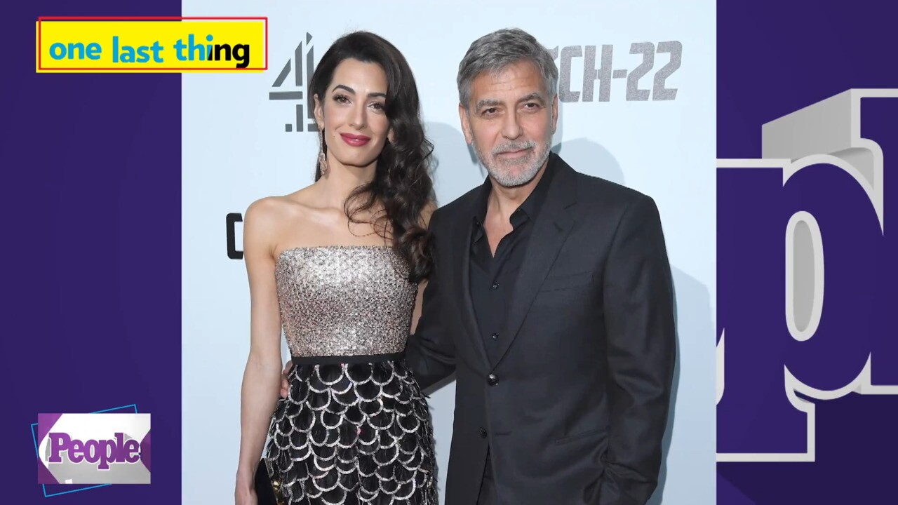George Clooney Reveals the Trick He Uses to Get His Twins to Behave Around Christmastime G Image