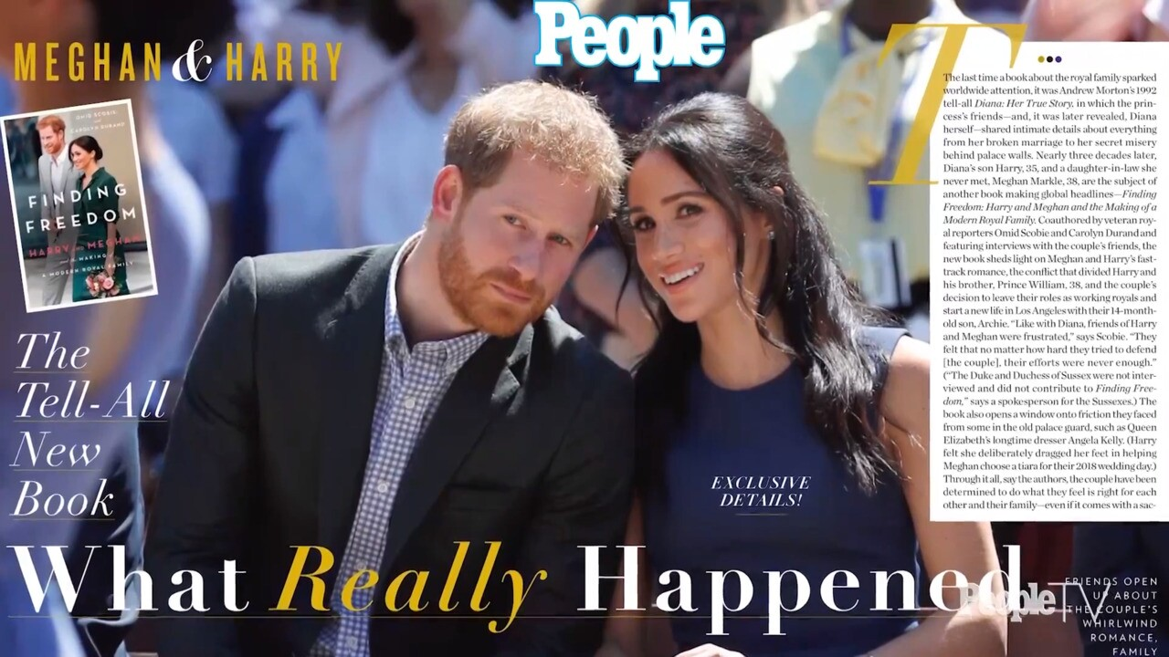 meghan markle prince harry shared baby news at eugenie s wedding people com a break down of what makes new book finding freedom so special to royal fans