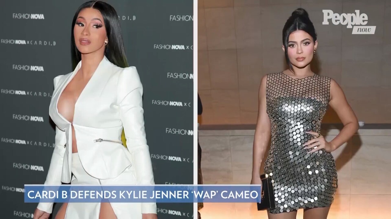 Cardi B Defends Putting Kylie Jenner In Wap Music Video People Com
