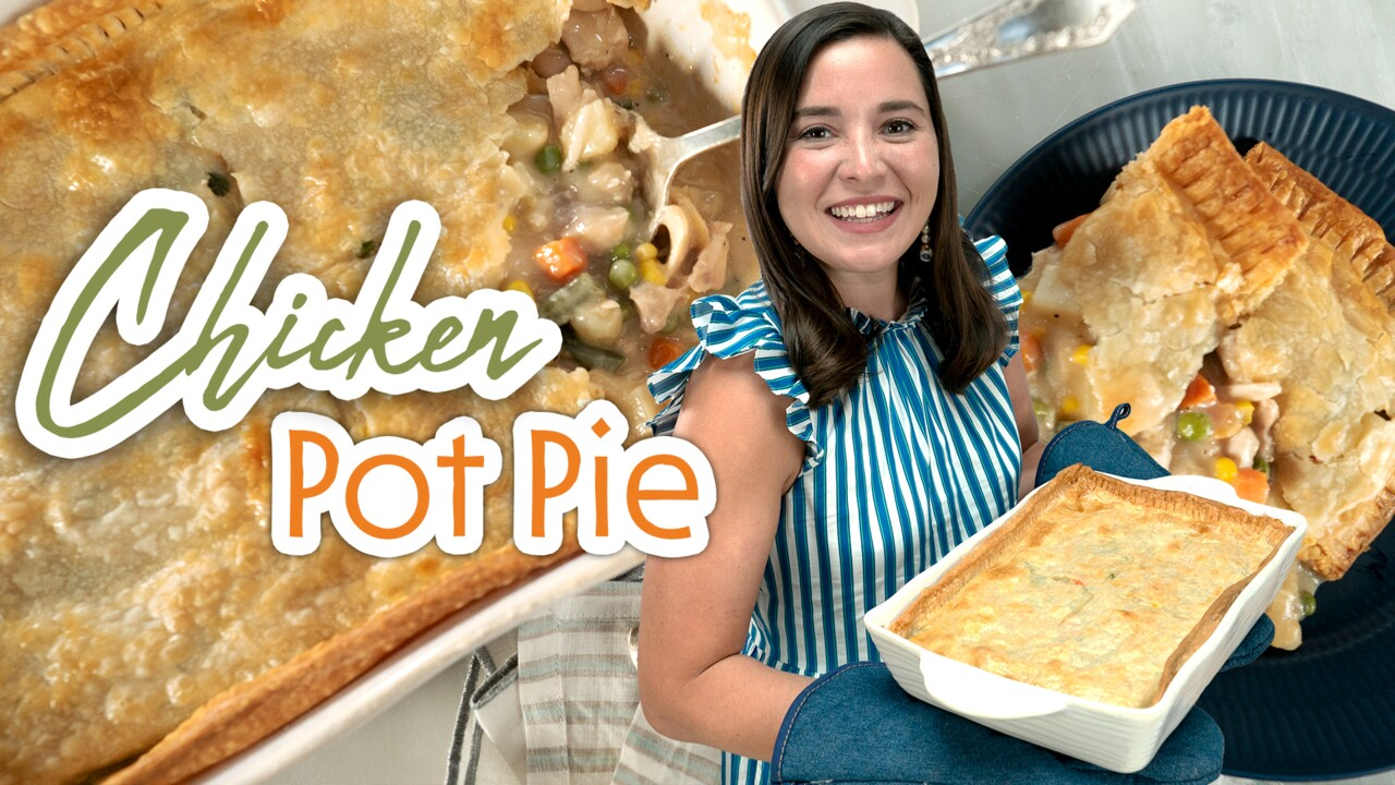 Simple Shortcuts For Making Chicken Pot Pie Southern Living