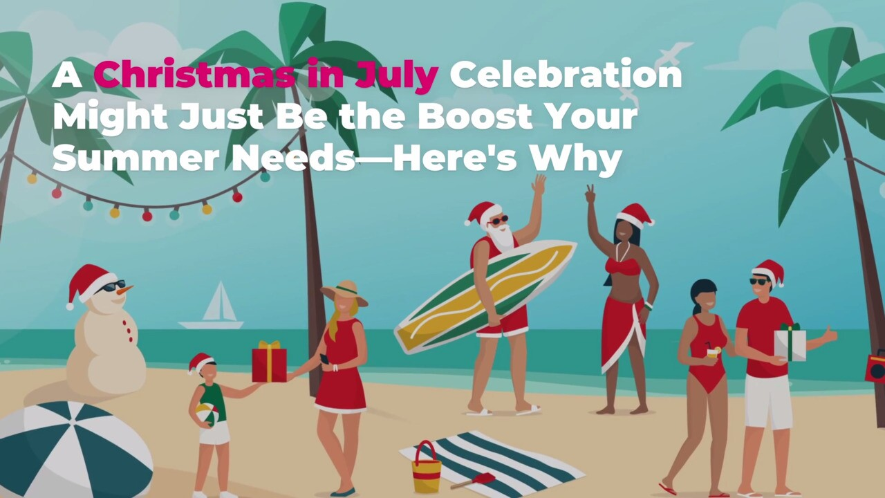 Christmas In July 2021 Qvc Christmas In July What It Is How It Started And Why You Should Celebrate This Year Real Simple