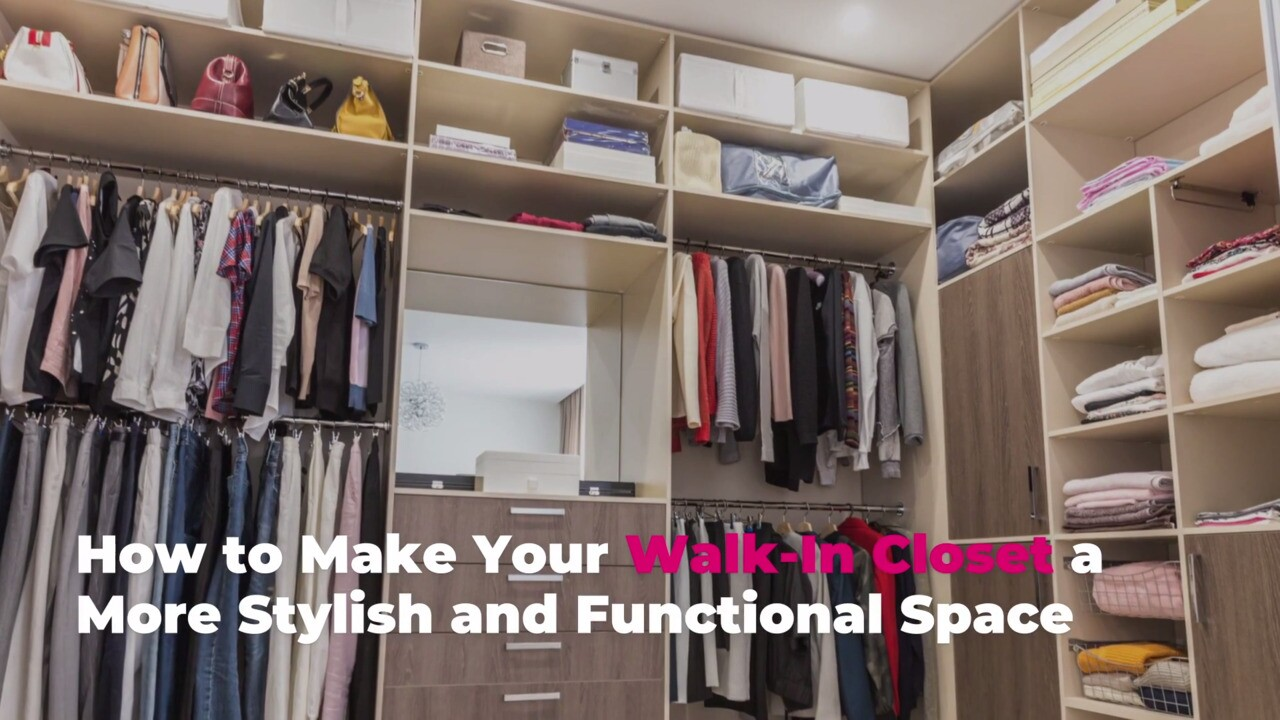 Walk-in Closet Design Tips for a More Stylish and Functional Space | Real  Simple