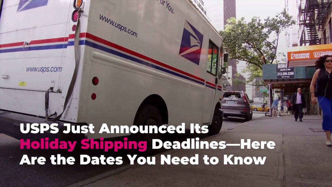 Usps Christmas Rush 2020 USPS Holiday Shipping Deadlines 2020: When to Mail Gifts This