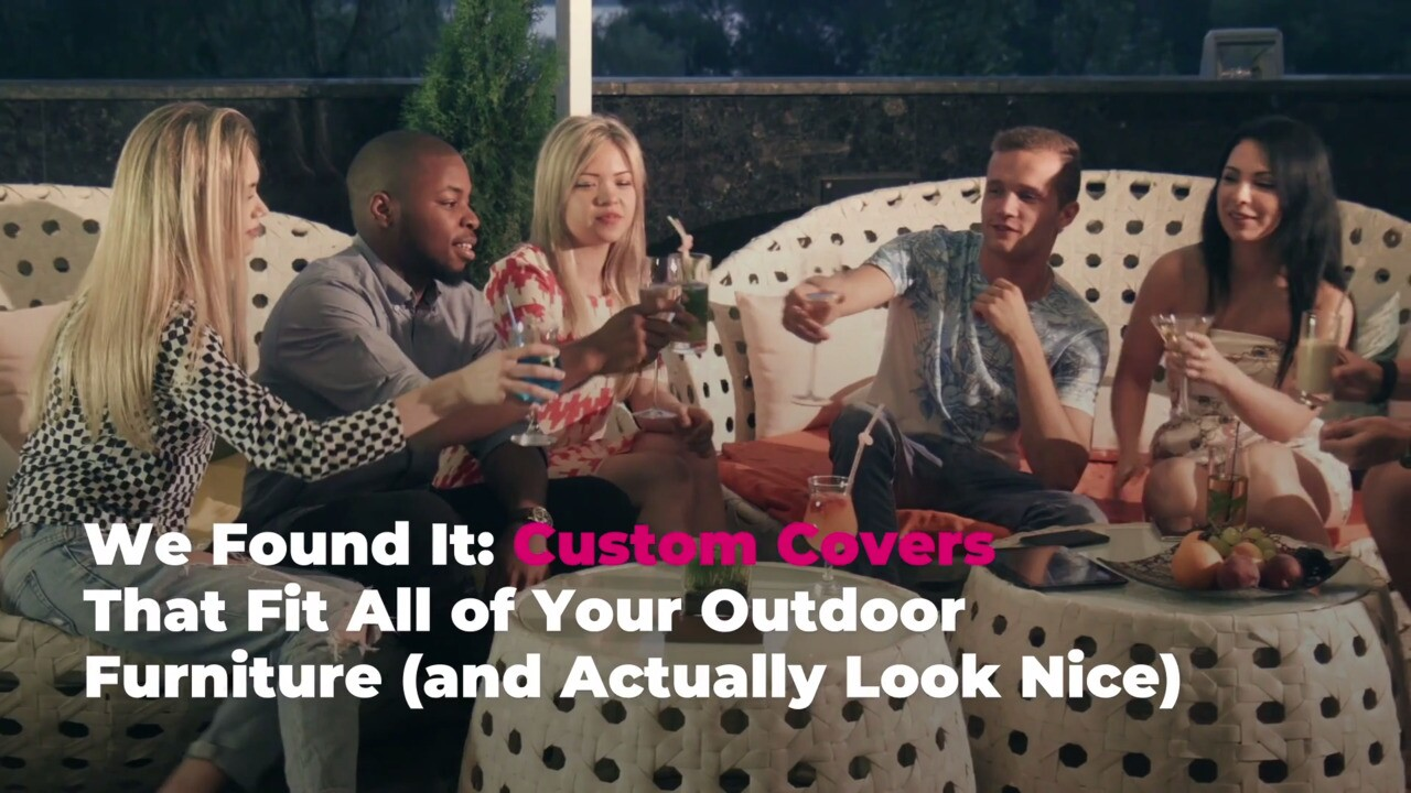 we found it custom covers that fit all of your outdoor furniture and actually look nice