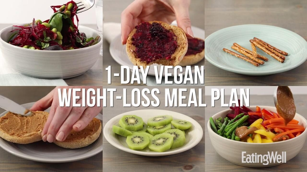 Vegan Meal Plan 1 200 Calories Eatingwell