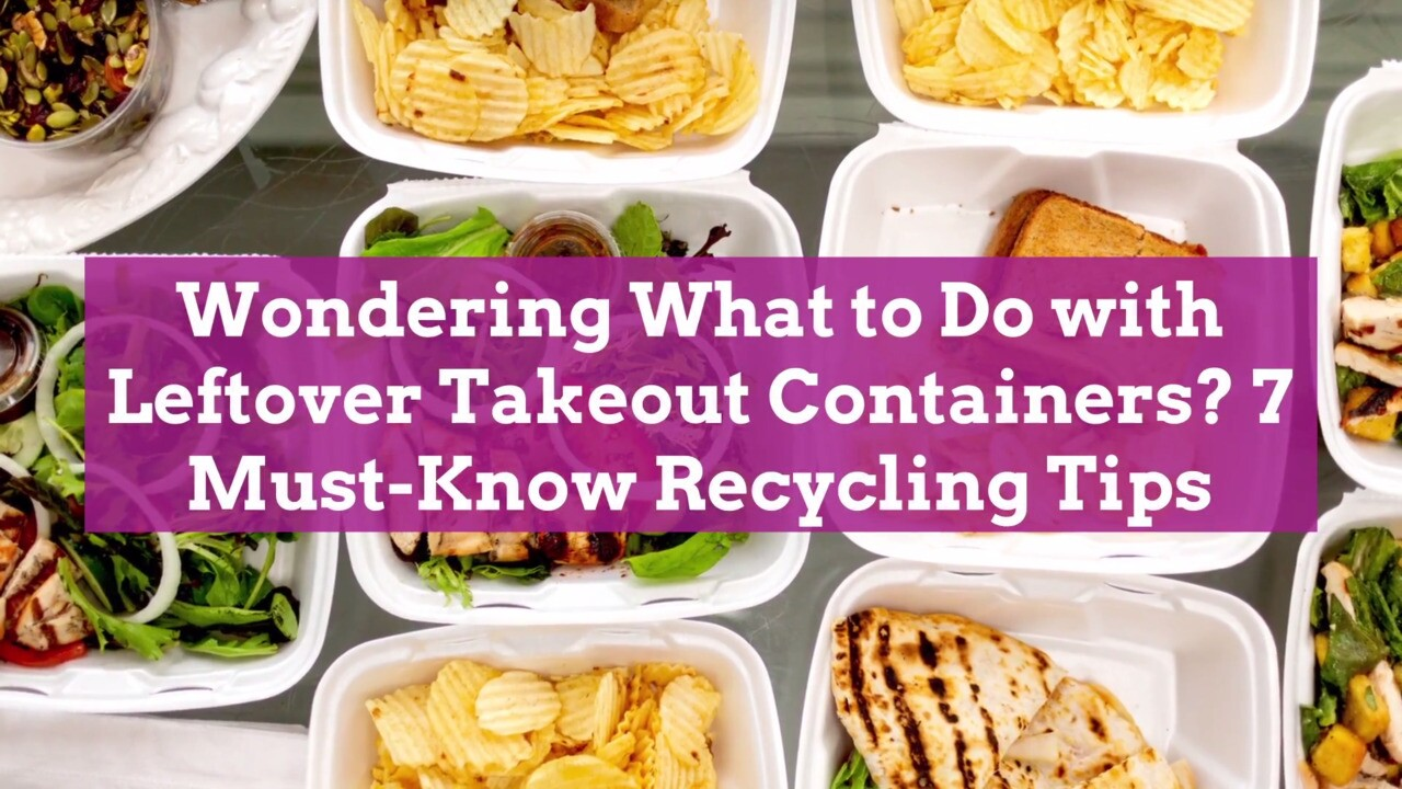 How To Recycle Takeout Containers Better Homes Gardens