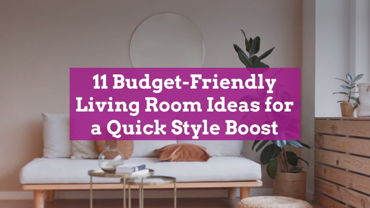 11 Budget Friendly Living Room Ideas