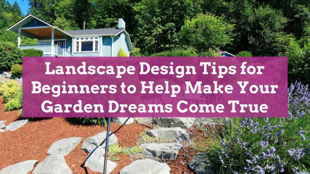 Landscape Design Tips For Beginners Better Homes Gardens