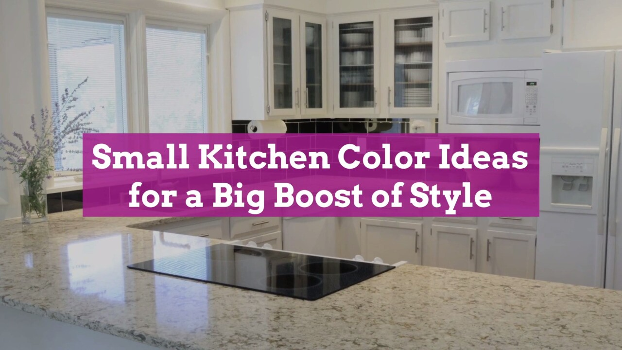 11 Small Kitchen Color Ideas For A Big Boost Of Style Better Homes Gardens