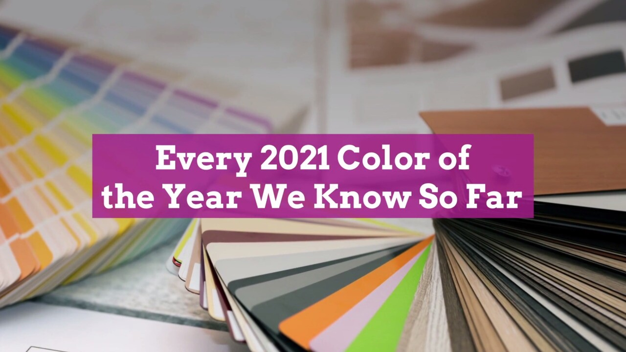 Most Popular Colors 2021 Christmas Paint Companies And Color Experts Unveil Their 2021 Colors Of The Year Better Homes Gardens