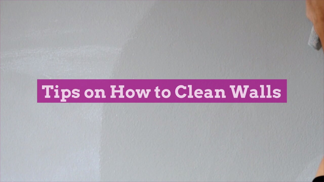 Wipe Away Scuffs and Stains with These Tips on How to Clean Walls
