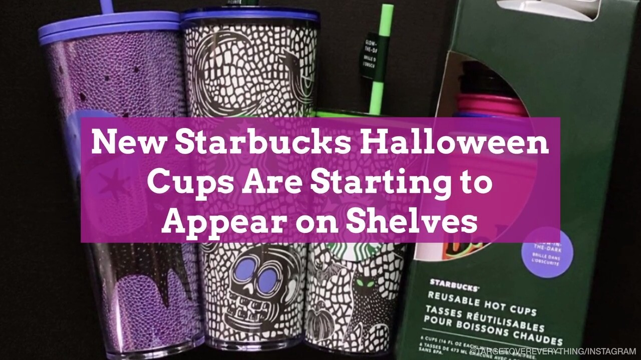 Halloween Reease Date 2020 Starbucks Halloween Cups Are Starting to Appear on Shelves