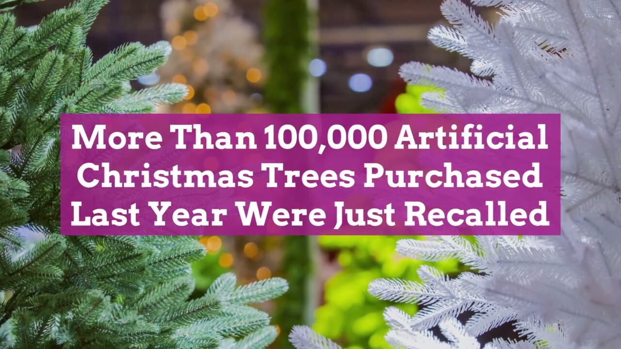 Artificial Christmas Trees Purchased Last Year Have Been Recalled Better Homes Gardens