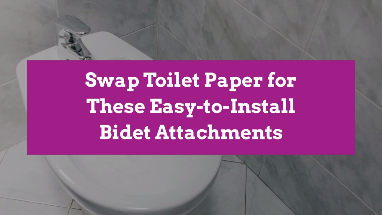 Easy To Install Bidet Attachments Better Homes Gardens