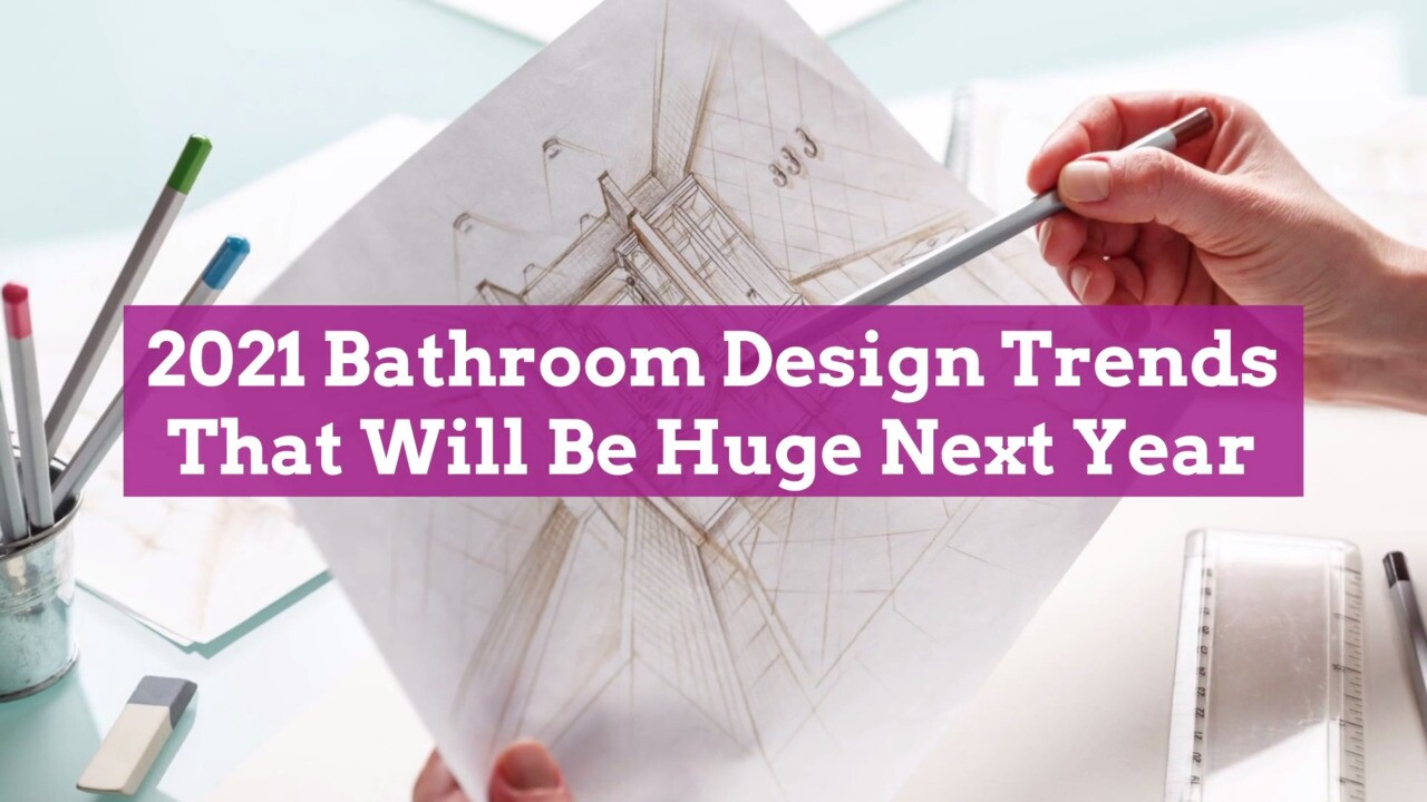 2021 Bathroom Design Trends We Can T Wait To Try Better Homes Gardens