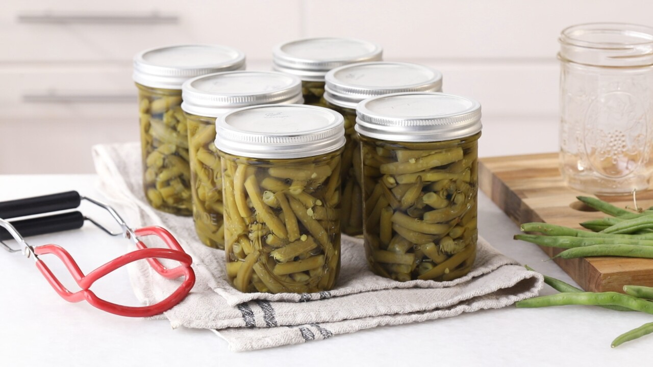 How To Can Green Beans Two Diffe