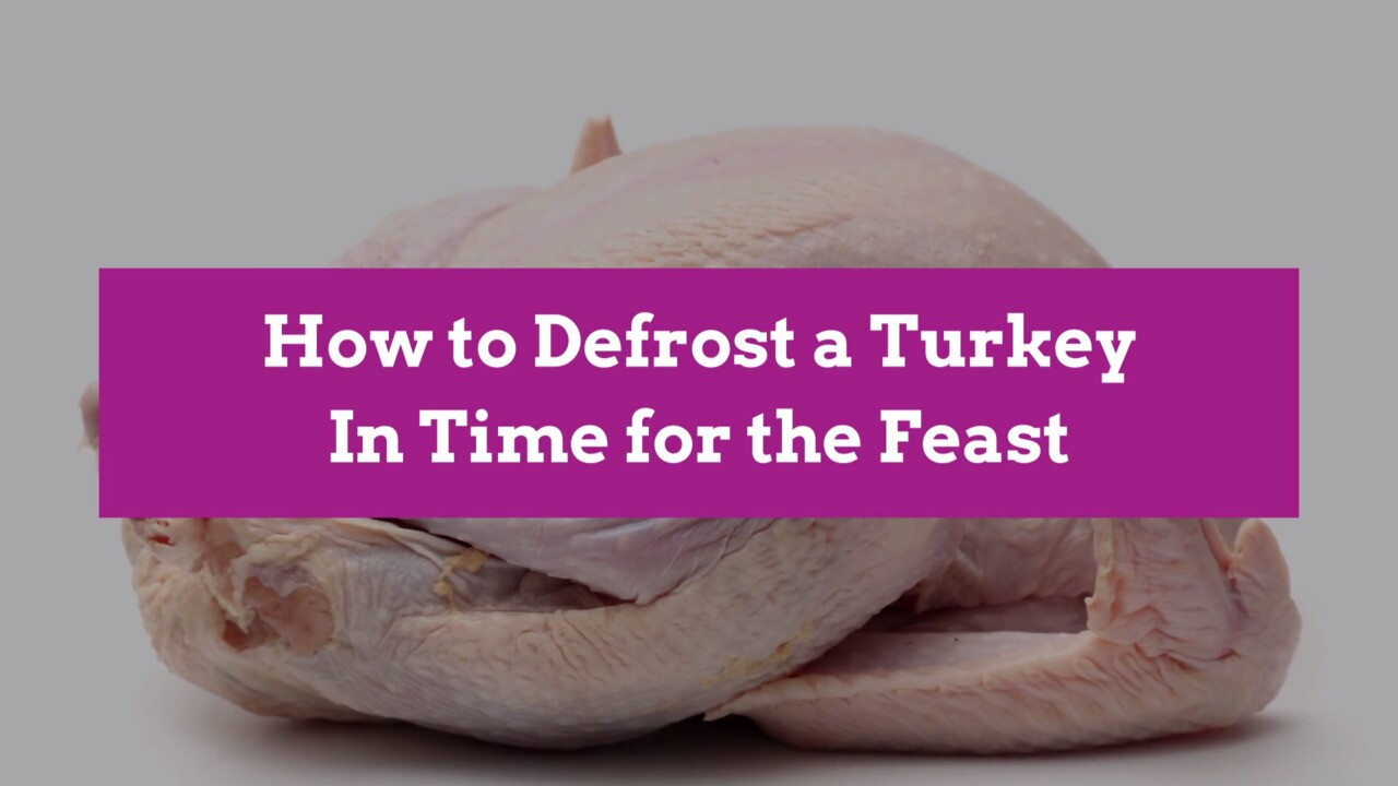 How To Defrost A Turkey In Time For The Feast Better Homes Gardens