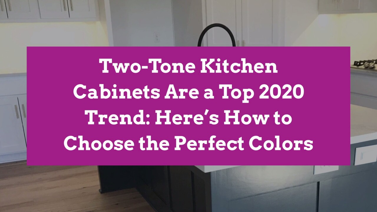 5 Tips For Choosing Colors For Two Tone Kitchen Cabinets Better Homes Gardens
