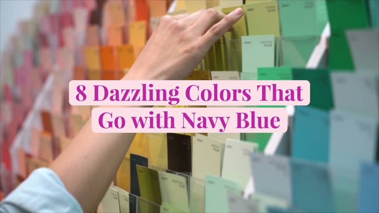 Match what with blue colors How To