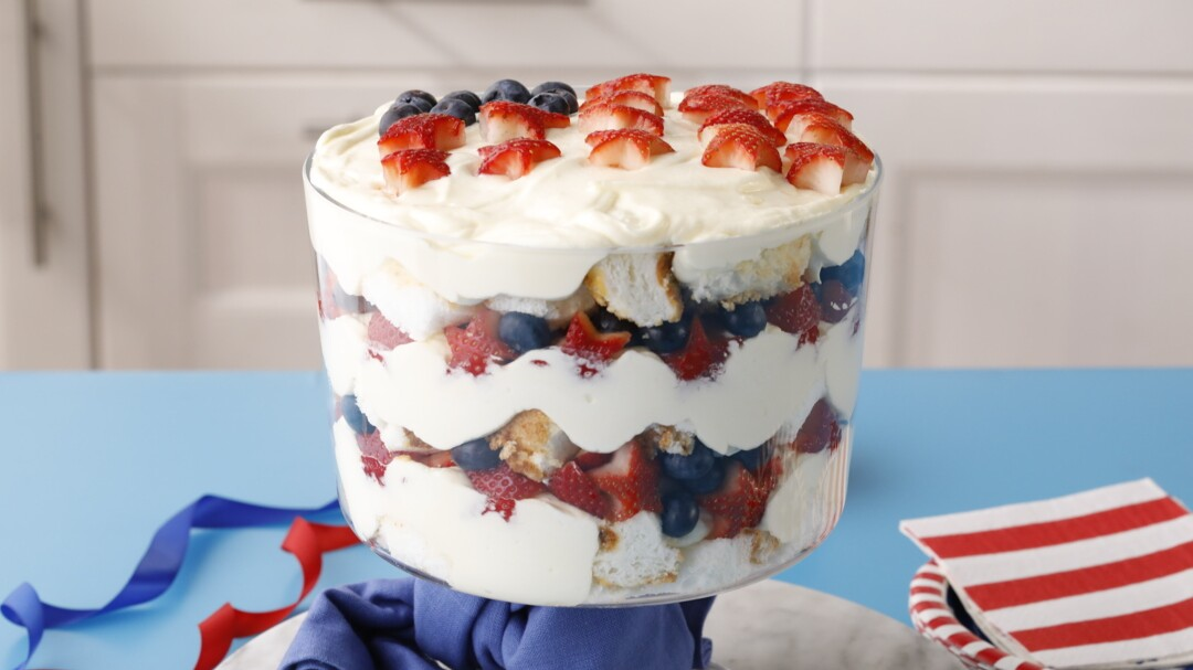 Fourth Of July Trifle Better Homes Gardens