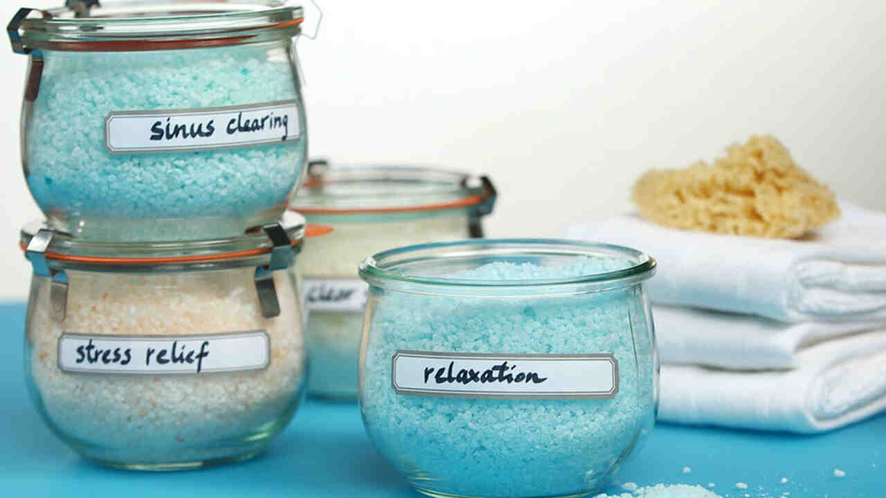 Homemade Bath Salts Martha Stewart