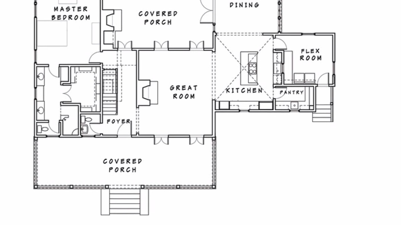 The Best Closed Floor Plan House Plans Southern Living