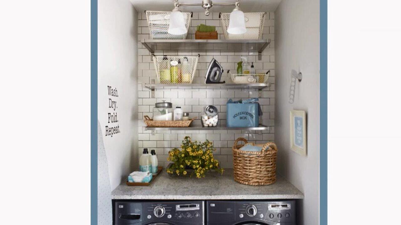 Stylish Efficient Laundry Room Ideas