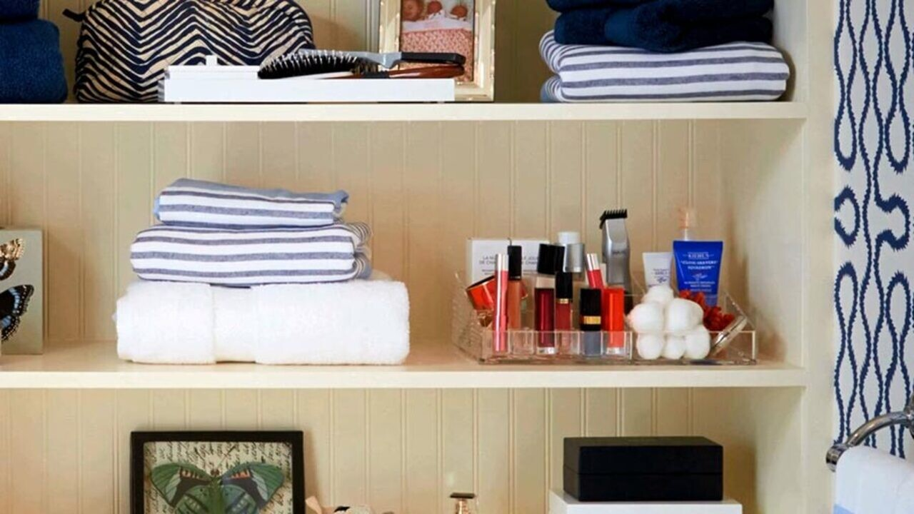 Image result for decluttering your bathroom images