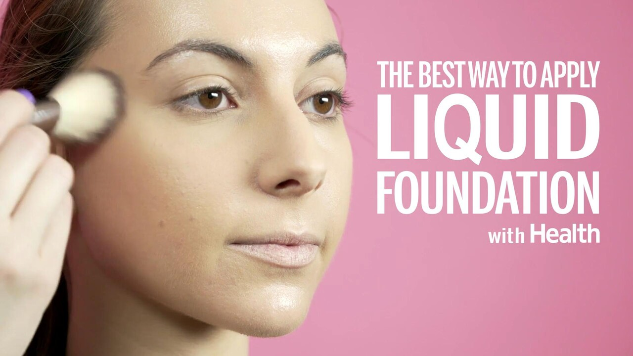 The Best Way to Apply Liquid Foundation, According to a Makeup Artist