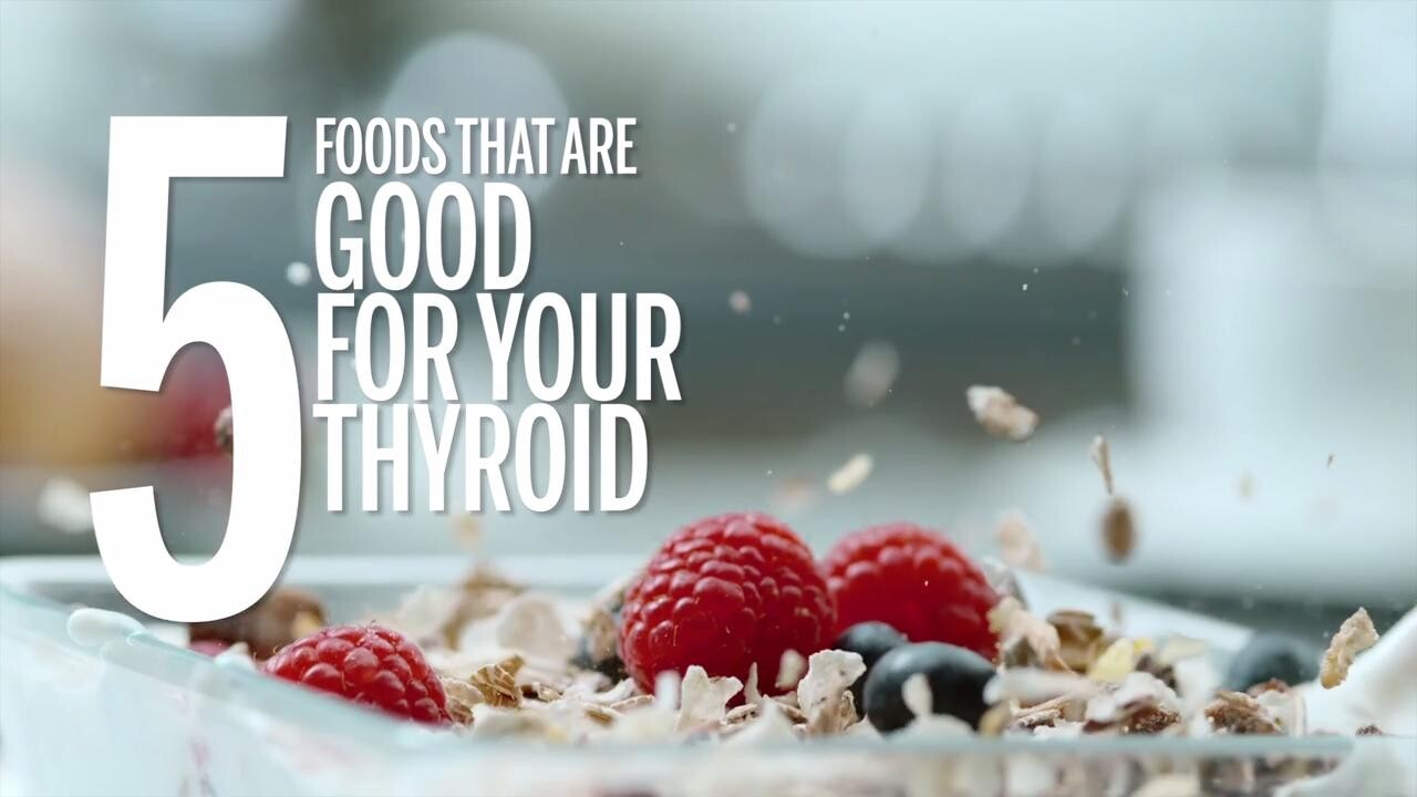 5 Foods That Are Good For Your Thyroid Health Com