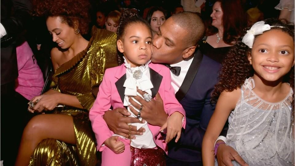 Beyonce And Jay Z Didn T Share Photos Of Rumi And Sir Carter During On The Run Tour Ii Instyle