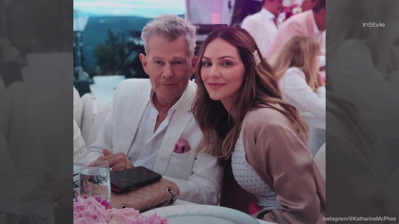 Katharine Mcphee Slams Critics Of Age Difference With David Foster Instyle
