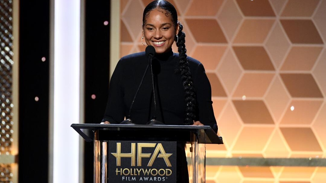 Alicia Keys Baby Hairs Are Art Instyle