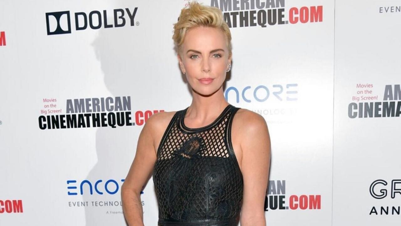 Charlize Theron Debuts A Swept Back Pixie Cut Instyle