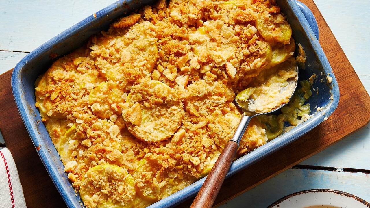 Squash Casserole Recipe Myrecipes