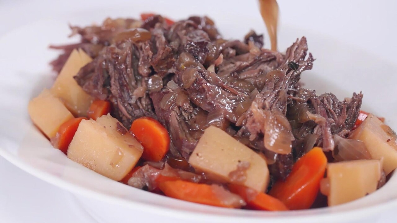 Beef Chuck Pot Roast Recipe