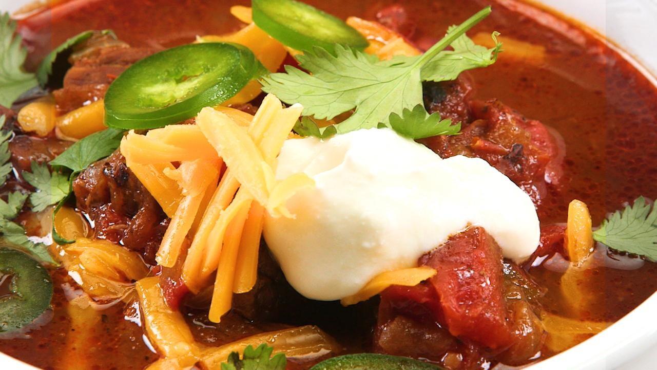 Instant Pot Beef And Bean Chili Recipe Myrecipes